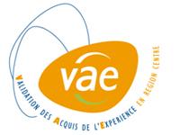 Le logo de la VAE en région Centre